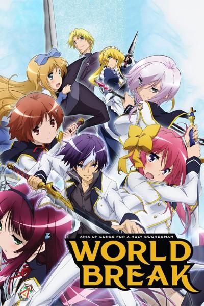 Caratula, cartel, poster o portada de World Break: Aria of Curse for a Holy Swordsman