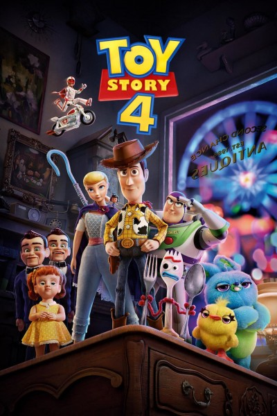 Caratula, cartel, poster o portada de Toy Story 4