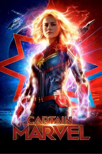 Caratula, cartel, poster o portada de Capitana Marvel
