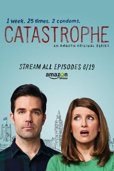 Caratula, cartel, poster o portada de Catastrophe