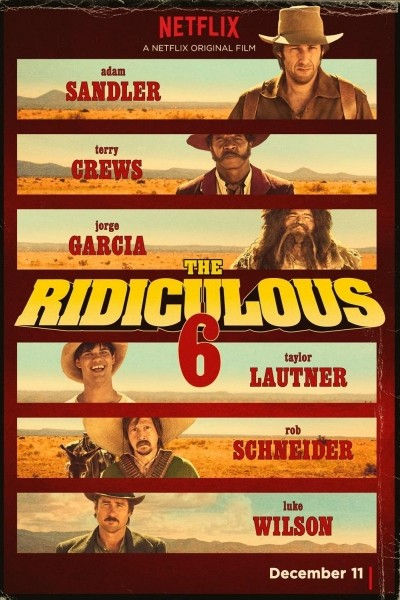 Caratula, cartel, poster o portada de The Ridiculous 6