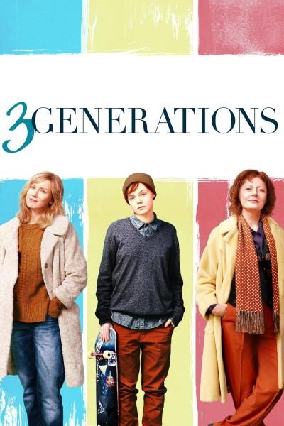 Caratula, cartel, poster o portada de 3 generaciones
