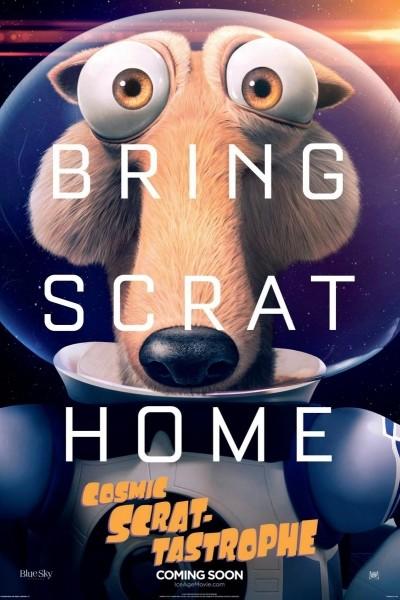 Caratula, cartel, poster o portada de Scrat-Tástrofe Cósmica