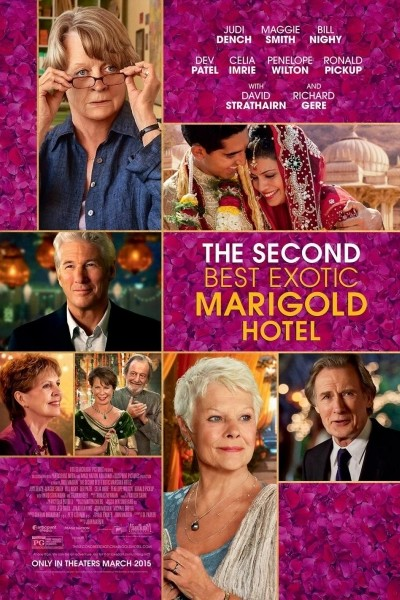 Caratula, cartel, poster o portada de El nuevo exótico Hotel Marigold