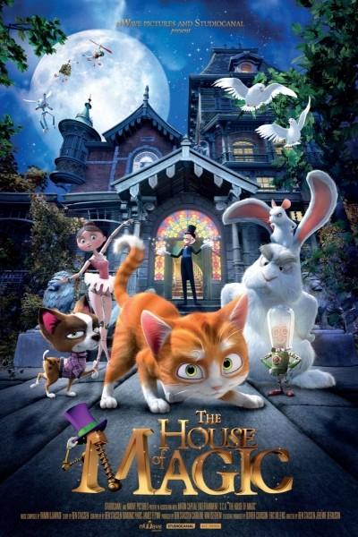 Caratula, cartel, poster o portada de La casa mágica