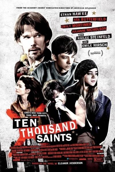 Caratula, cartel, poster o portada de Diez mil santos