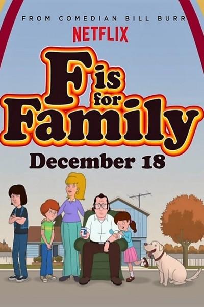 Caratula, cartel, poster o portada de F Is for Family