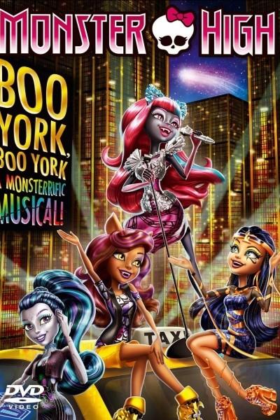 Caratula, cartel, poster o portada de Monster High: Monstruo York