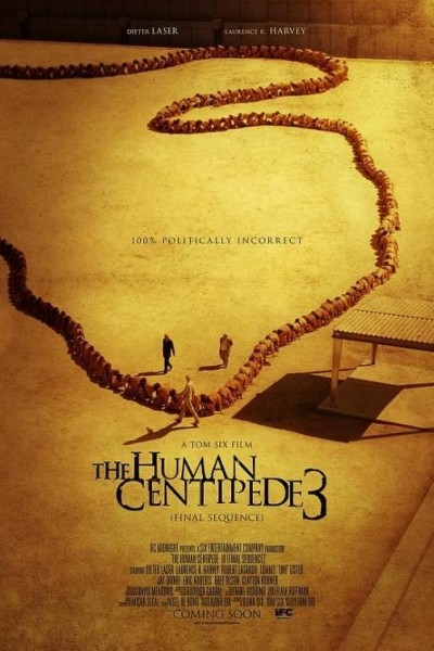 Caratula, cartel, poster o portada de The Human Centipede III (Final Sequence)