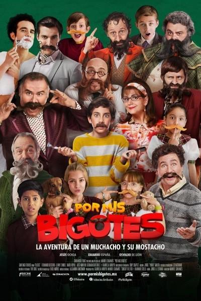 Caratula, cartel, poster o portada de Por mis bigotes