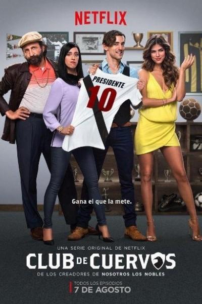 Caratula, cartel, poster o portada de Club de Cuervos