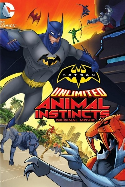 Caratula, cartel, poster o portada de Batman Unlimited: Instinto animal