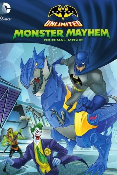 Caratula, cartel, poster o portada de Batman Unlimited: Monstermanía
