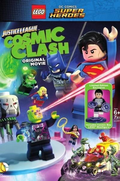 Caratula, cartel, poster o portada de LEGO DC Super Heroes: La liga de la justicia. La invasión de Brainiac