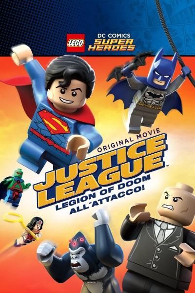 Caratula, cartel, poster o portada de La Liga de la Justicia: El ataque de la Legión del Mal