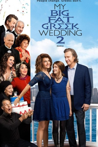 Caratula, cartel, poster o portada de Mi gran boda griega 2