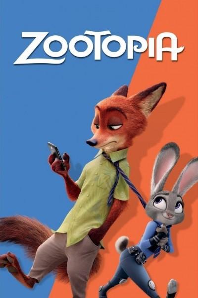 Caratula, cartel, poster o portada de Zootrópolis