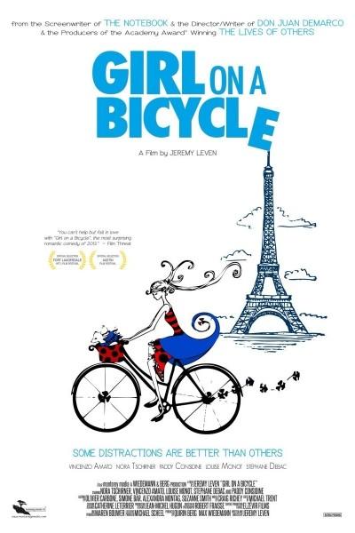 Caratula, cartel, poster o portada de La chica de la bicicleta
