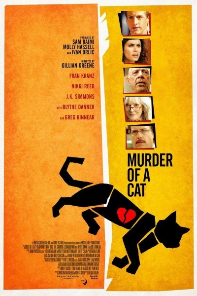 Caratula, cartel, poster o portada de El asesinato de un gato