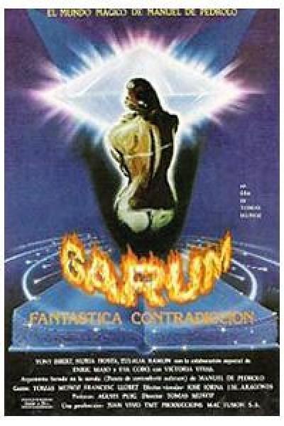Caratula, cartel, poster o portada de Garum (Fantástica contradicción)