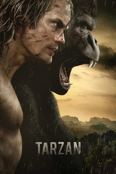 Caratula, cartel, poster o portada de La leyenda de Tarzán