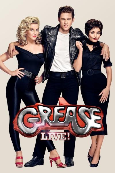 Caratula, cartel, poster o portada de Grease: Live