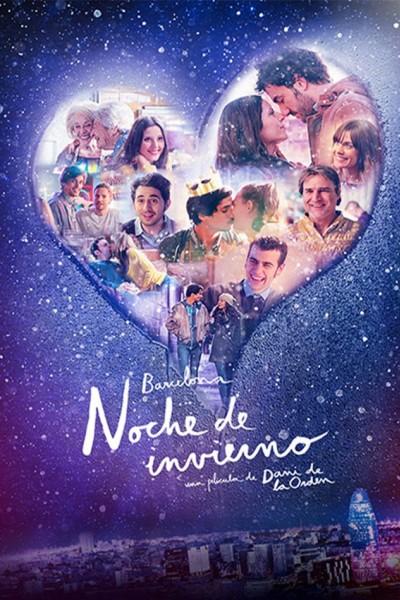 Caratula, cartel, poster o portada de Barcelona, noche de invierno