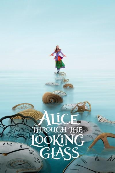 Caratula, cartel, poster o portada de Alicia a través del espejo