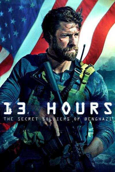 Caratula, cartel, poster o portada de 13 Horas: Los soldados secretos de Bengasi