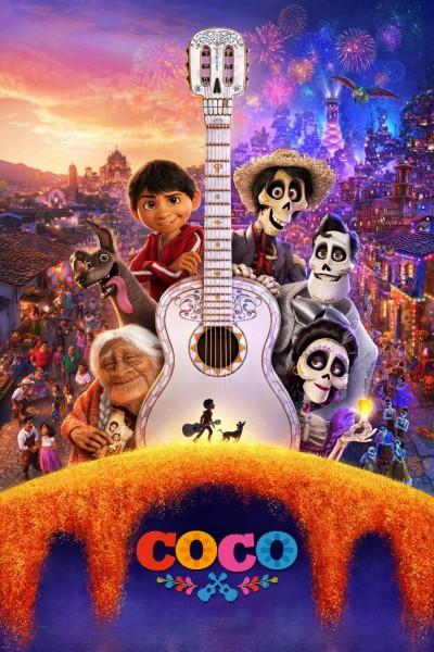 Caratula, cartel, poster o portada de Coco