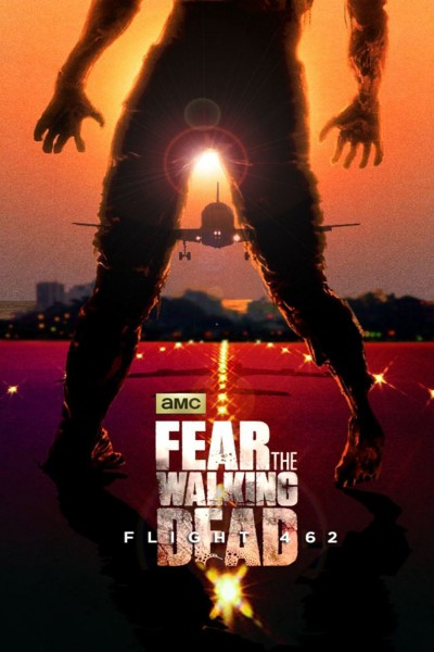 Caratula, cartel, poster o portada de Fear the Walking Dead: Flight 462