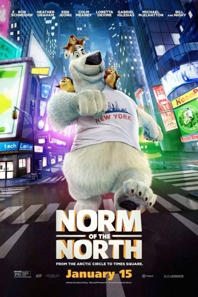 Caratula, cartel, poster o portada de Norman del norte
