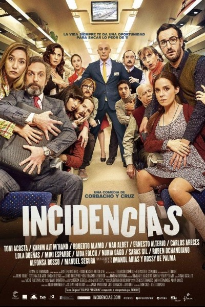 Caratula, cartel, poster o portada de Incidencias