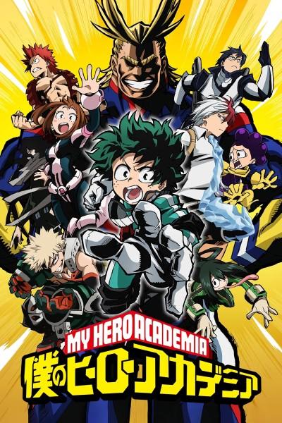 Caratula, cartel, poster o portada de My Hero Academia