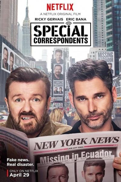 Caratula, cartel, poster o portada de Special Correspondents