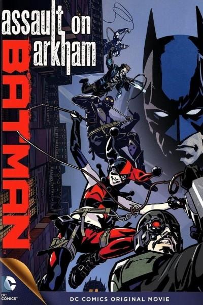 Caratula, cartel, poster o portada de Batman: Asalto en Arkham