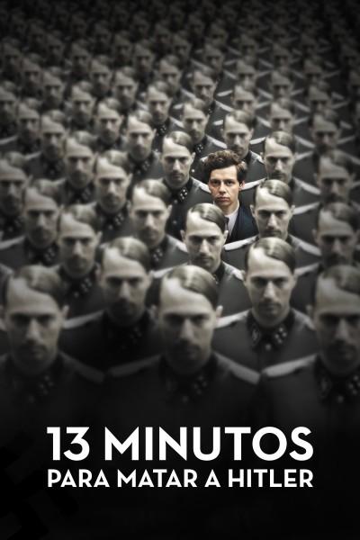 Caratula, cartel, poster o portada de 13 minutos para matar a Hitler