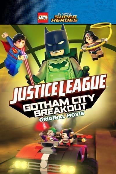 Caratula, cartel, poster o portada de Lego DC Comics. La Liga de la Justicia: Fuga de Gotham