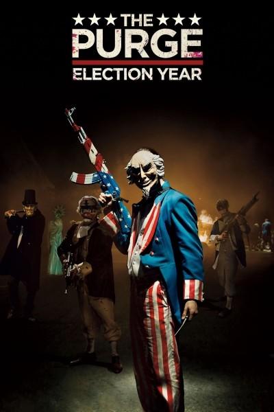 Caratula, cartel, poster o portada de Election: La noche de las bestias