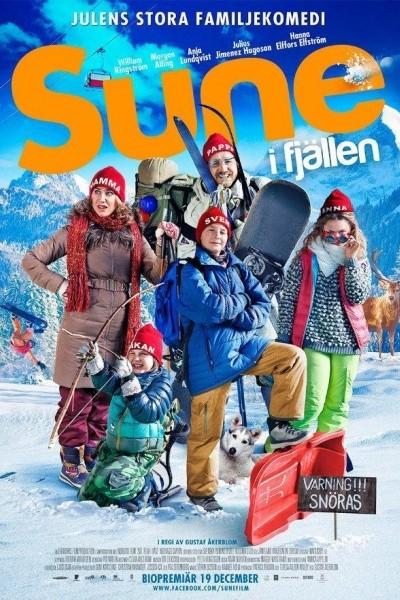 Caratula, cartel, poster o portada de Los Andersson en la nieve