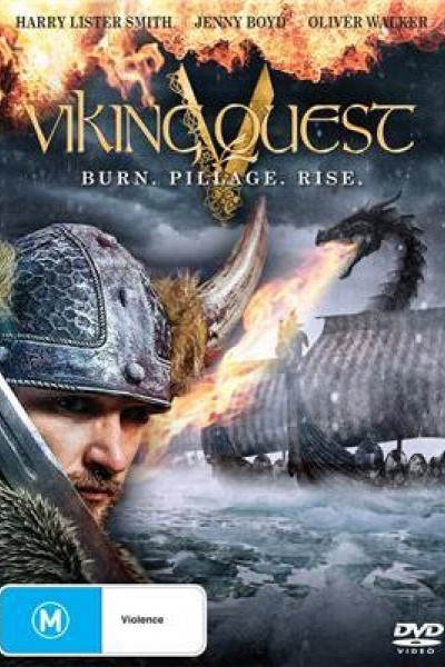 Caratula, cartel, poster o portada de La aventura de los vikingos