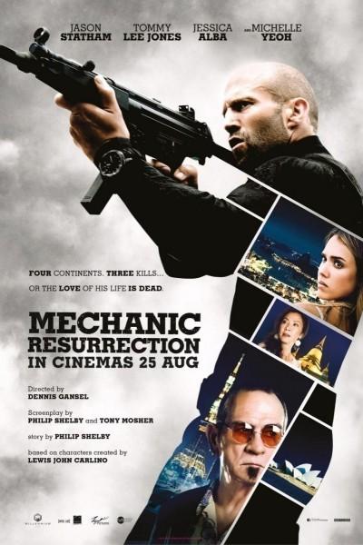Caratula, cartel, poster o portada de Mechanic: Resurrection