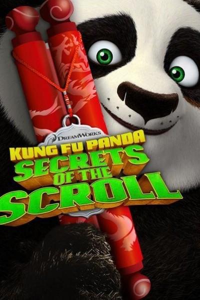 Caratula, cartel, poster o portada de Kung Fu Panda: los secretos del pergamino