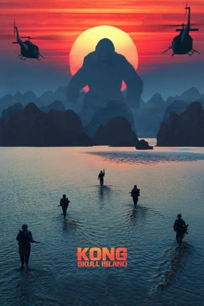 Caratula, cartel, poster o portada de Kong: La isla calavera