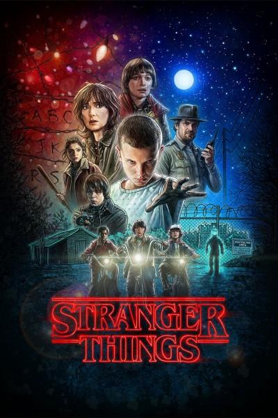Caratula, cartel, poster o portada de Stranger Things