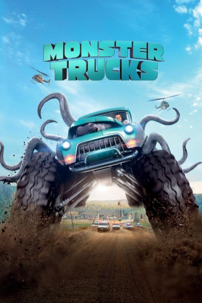 Caratula, cartel, poster o portada de Monster Trucks