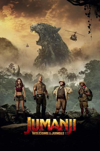 Caratula, cartel, poster o portada de Jumanji: Bienvenidos a la jungla