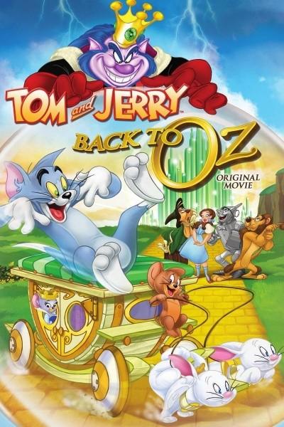 Caratula, cartel, poster o portada de Tom y Jerry: Regreso al mundo de Oz