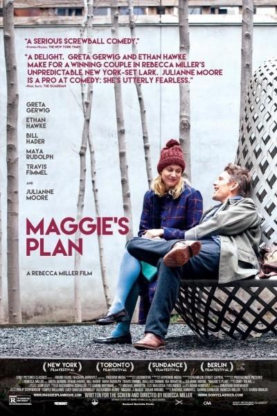 Caratula, cartel, poster o portada de Maggie\'s Plan