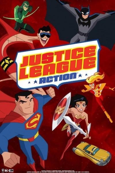 Caratula, cartel, poster o portada de La Liga de la Justicia en acción
